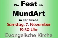 Plakat Mundartabend 2015(GR)